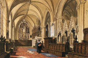 Joseph Nash The Younger - Interior Of A Church
