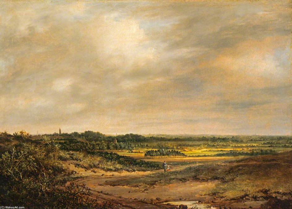 An English Landscape by Patrick Nasmyth (1787-1831, United Kingdom)