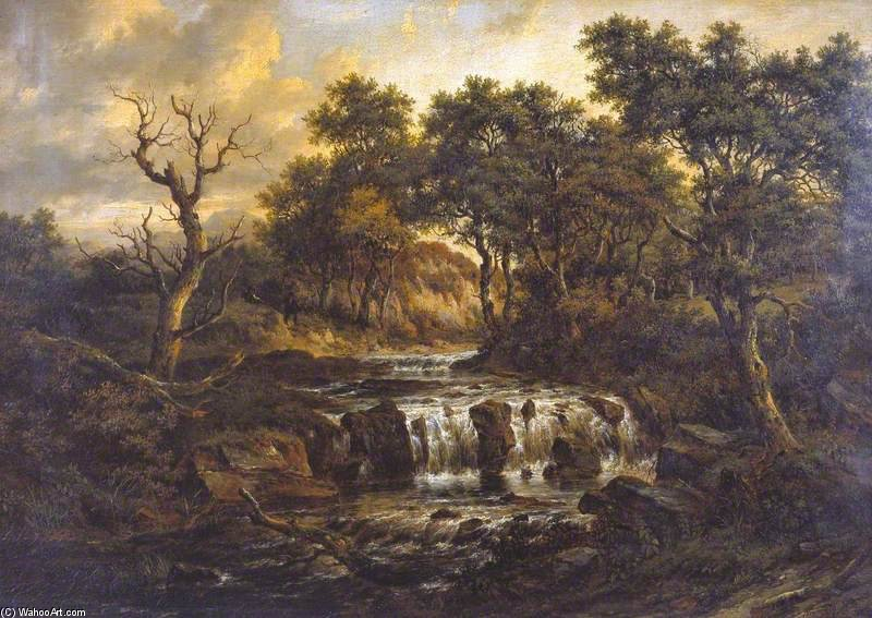 Landscape - (8) by Patrick Nasmyth (1787-1831, United Kingdom)