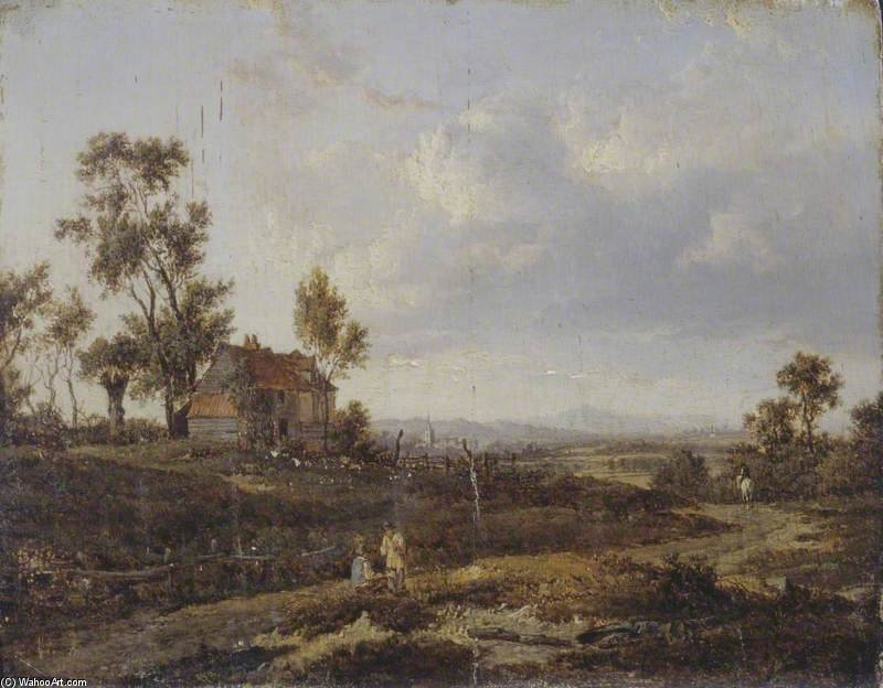 Landscape With A Cottage by Patrick Nasmyth (1787-1831, United Kingdom)