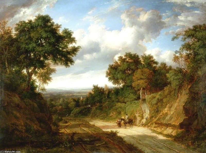 Landscape With Figures by Patrick Nasmyth (1787-1831, United Kingdom)