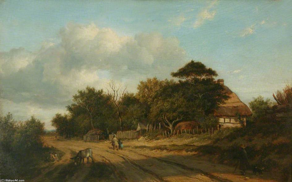 Near Dulwich by Patrick Nasmyth (1787-1831, United Kingdom)