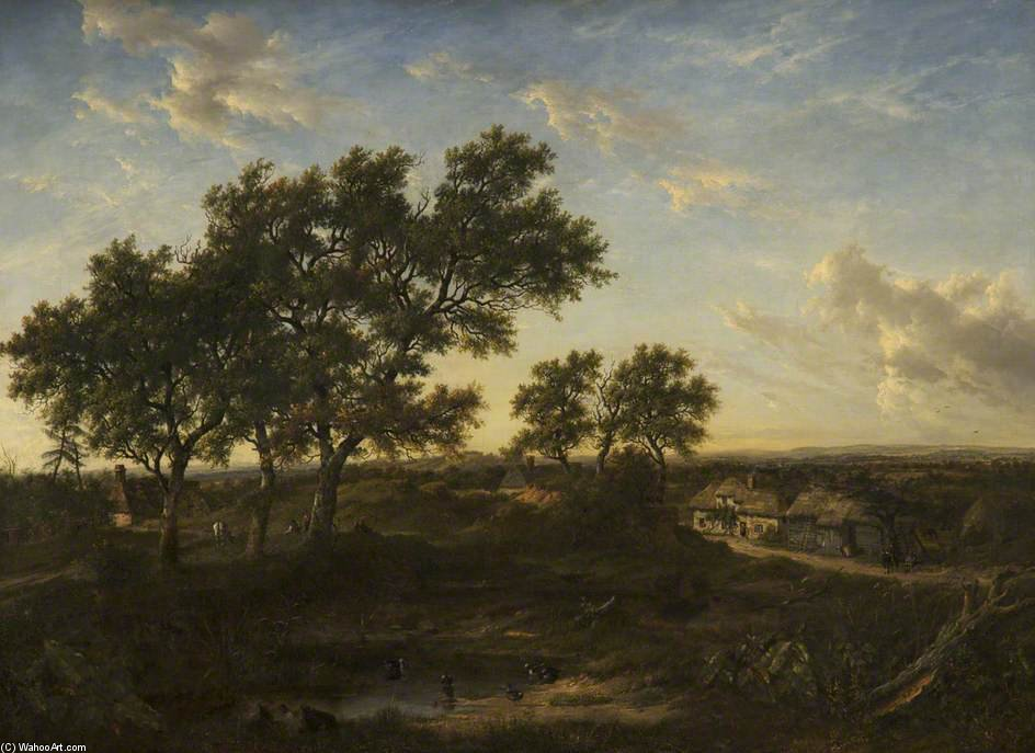 Ringwood, Hampshire by Patrick Nasmyth (1787-1831, United Kingdom)