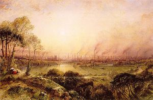 William Wyld - Manchester From Kersal Mo..