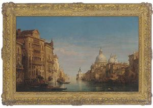 William Wyld - On The Grand Canal, Venic..