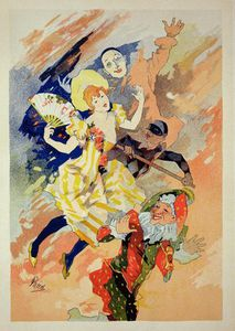 Jules Cheret - Reproduction Of A Poster For A Pantomime