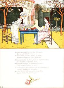 Kate Greenaway - A Children-s Tea Party