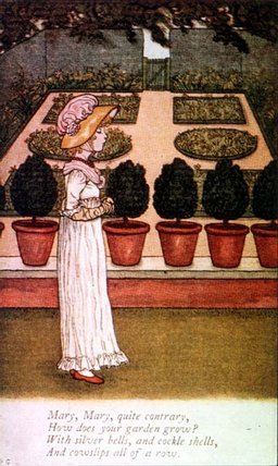 April Baby's Book Of Tunes by Kate Greenaway (1846-1901, United Kingdom)