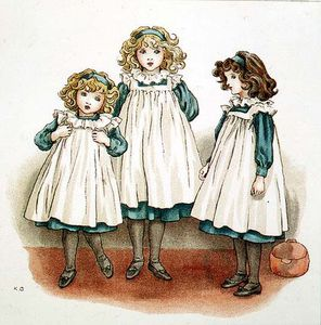 Kate Greenaway - But Flinders Foots Were Cold
