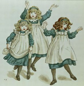 Kate Greenaway - The Strains Of Polly Flinders