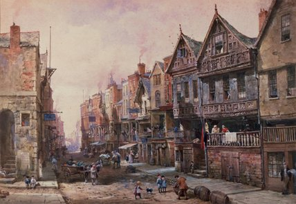 Chester by Louise Rayner (1832-1924, United Kingdom)