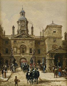 Louise Rayner - Horse Guards Parade