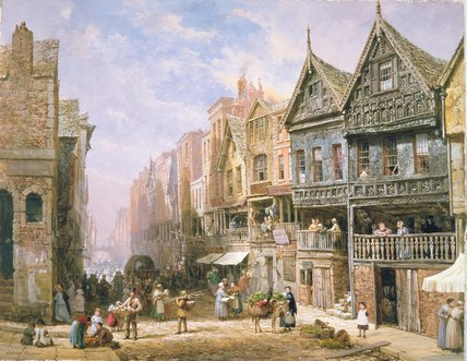 Watergate Street by Louise Rayner (1832-1924, United Kingdom)