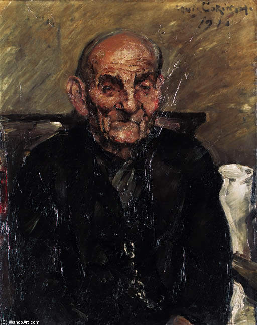 Alter Mann by Lovis Corinth (Franz Heinrich Louis) (1858-1925, Netherlands)