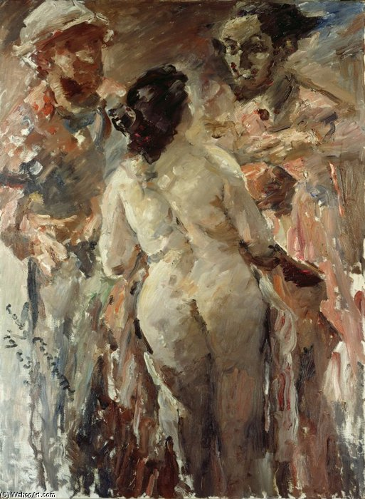 Susanna And The Elders by Lovis Corinth (Franz Heinrich Louis) (1858-1925, Netherlands)