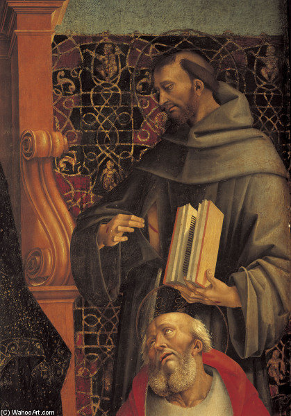 Francis Of Assisi by Luca Signorelli (1445-1523, Italy)