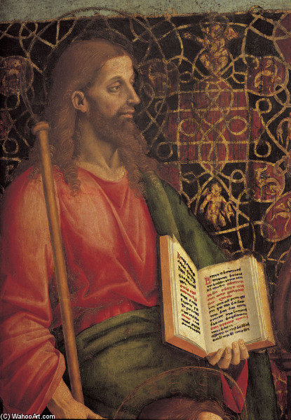James The Great by Luca Signorelli (1445-1523, Italy)