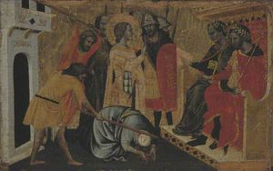 Master Of San Lucchese - A Martyrdom