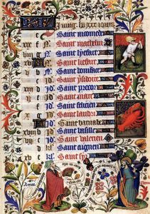 Master Of The Duke Of Bedford - Book Of Hours