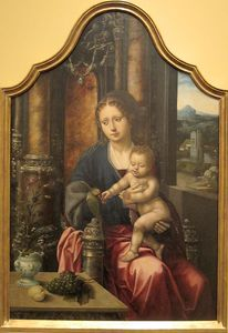 Master Of The Parrot - Madonna And Child By The Master Of The Parrot, San Diego Museum Of Art