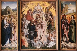 Master Of The St Bartholo.. - Thomas Altarpiece