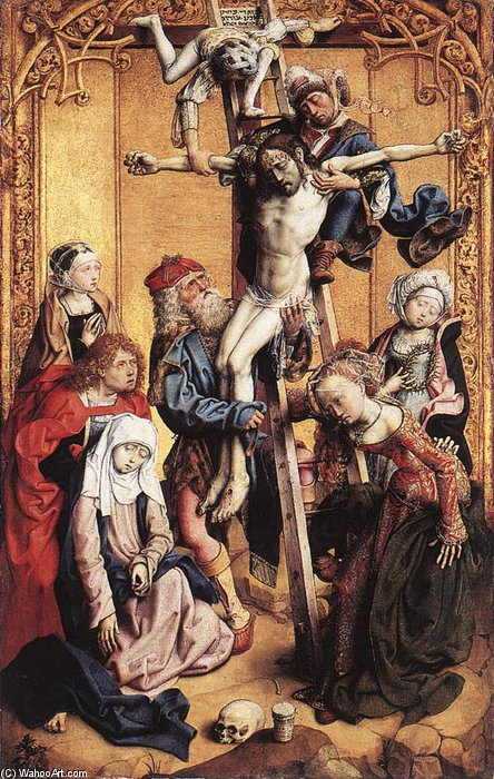 Deposition by Master Of The St Bartholomew Altar (1450-1510, Germany)