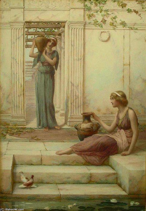 The Watercarriers by Henry Ryland (1856-1924, United Kingdom)