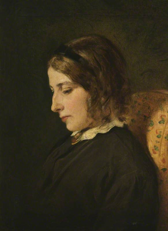 Harriet White by Henry Thomas Schafer (1873-1915, France)