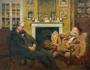 Henry Tonks - Sodales - Mr Steer And Mr..