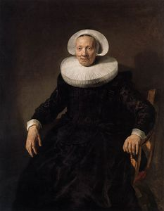 Jacob Adriaensz Backer - Portrait Of A Woman