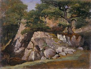 James Arthur O Connor - A View Of The Valley Of Rocks