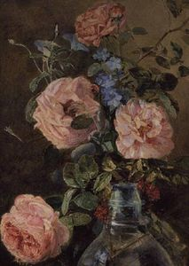 James Holland - Roses, Convolvulus And De..
