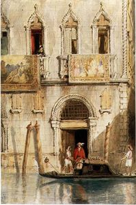 James Holland - The Steps Of The Palazzo ..