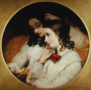 James Sant - Study Of Two Girls