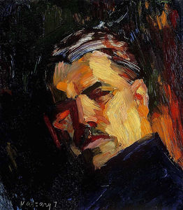 Janos Vaszary - Self Portrait