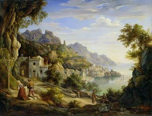 Joachim Faber - At The Gulf Of Salerno,