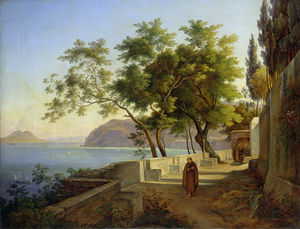 Joachim Faber - The Terrace Of The Capucins In..