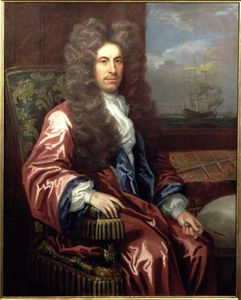 John Closterman - Portrait Of Charles Calve..