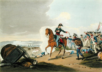 The Prince Of Orange At The Battle Of Waterloo by John Augustus Atkinson (1775-1833, United Kingdom) | ArtsDot.com