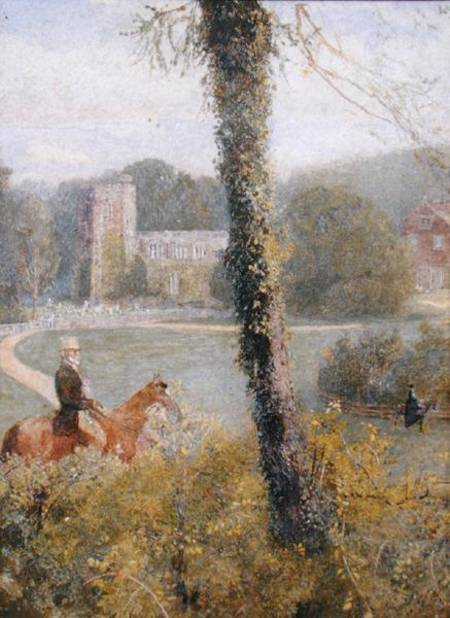 Somerset by John William North (1842-1924, United Kingdom) | ArtsDot.com