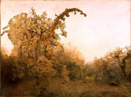 The Old Pear Tree by John William North (1842-1924, United Kingdom)