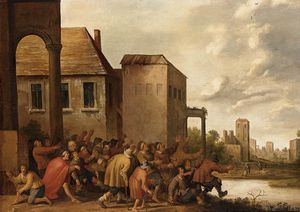 Joost Cornelisz Droochslo.. - The Pool Of Bethesda