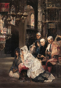 Jose Gallegos Y Arnosa - The Wedding Ceremony
