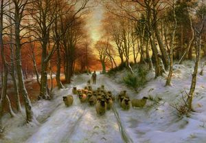 Joseph Farquharson - Glowed With Tints Of Even..