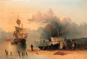 Nicholas Matthew Condy - Troops On The Shore