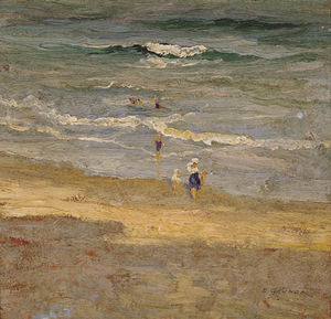 Elioth Gruner - The Incoming Tide