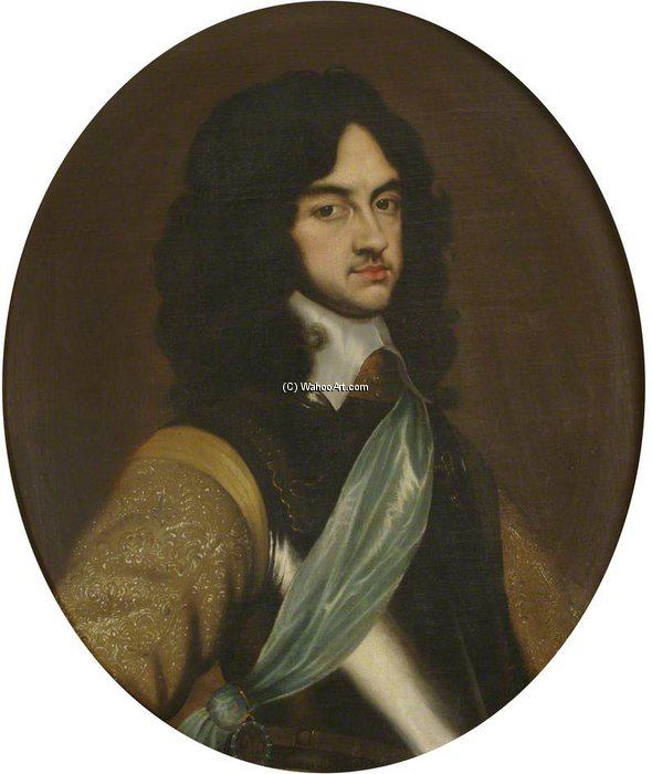 Buy Museum Art Reproductions : Charles Ii As Prince Of Wales by Adriaen Hanneman (1603-1671, Netherlands) | ArtsDot.com