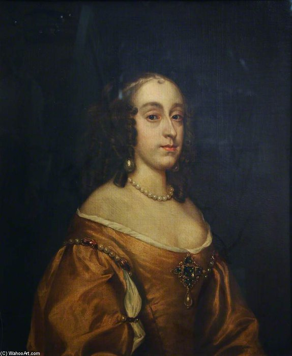 Mary Princess Royal And Princess Of Orange by Adriaen Hanneman (1603-1671, Netherlands)