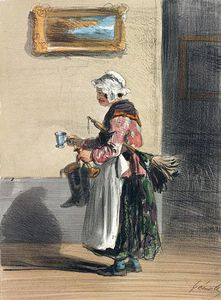 Alfred Andre Geniole - The Cleaning Lady