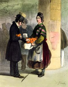 Alfred Andre Geniole - The Orange Seller